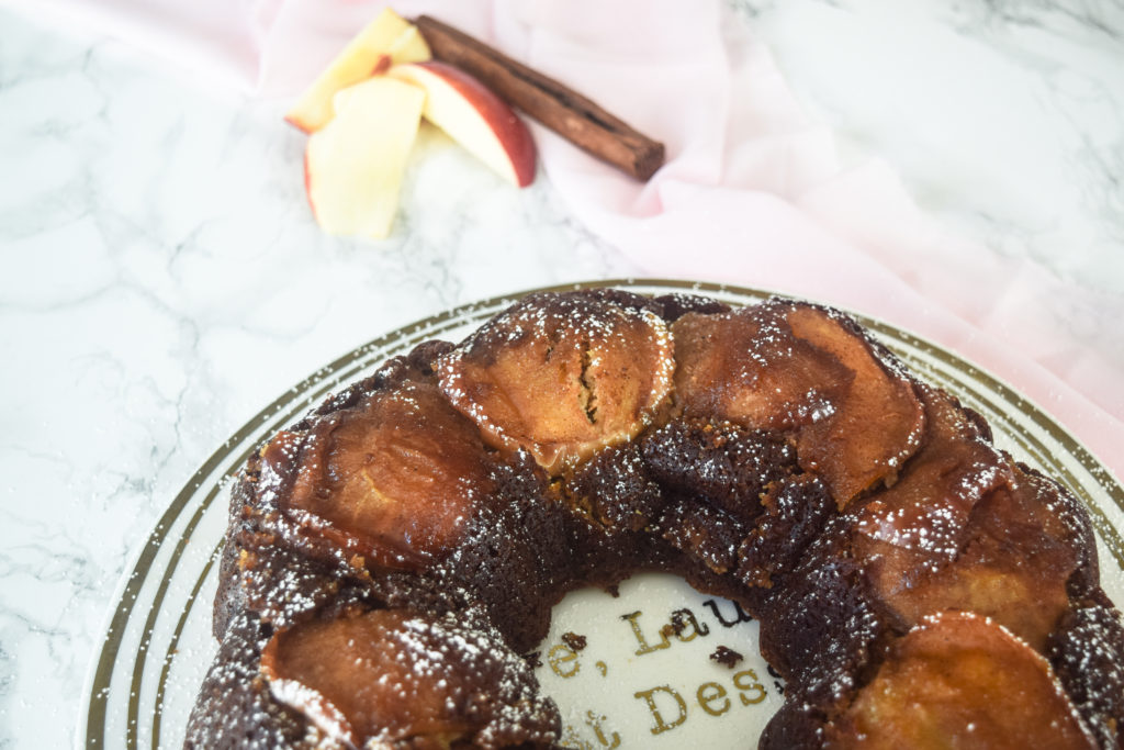 apple cider rum cake