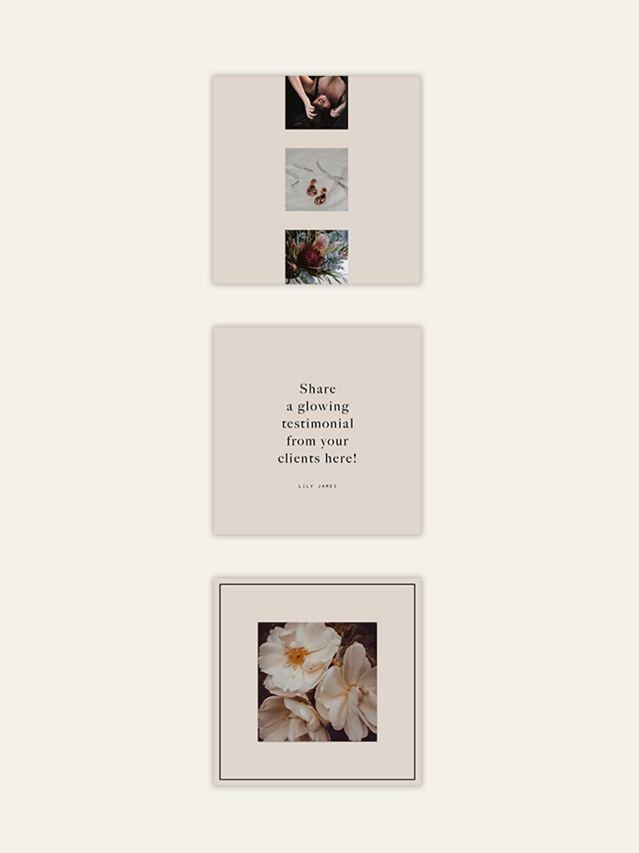 Free Lily James Insta Post PSD Templates
