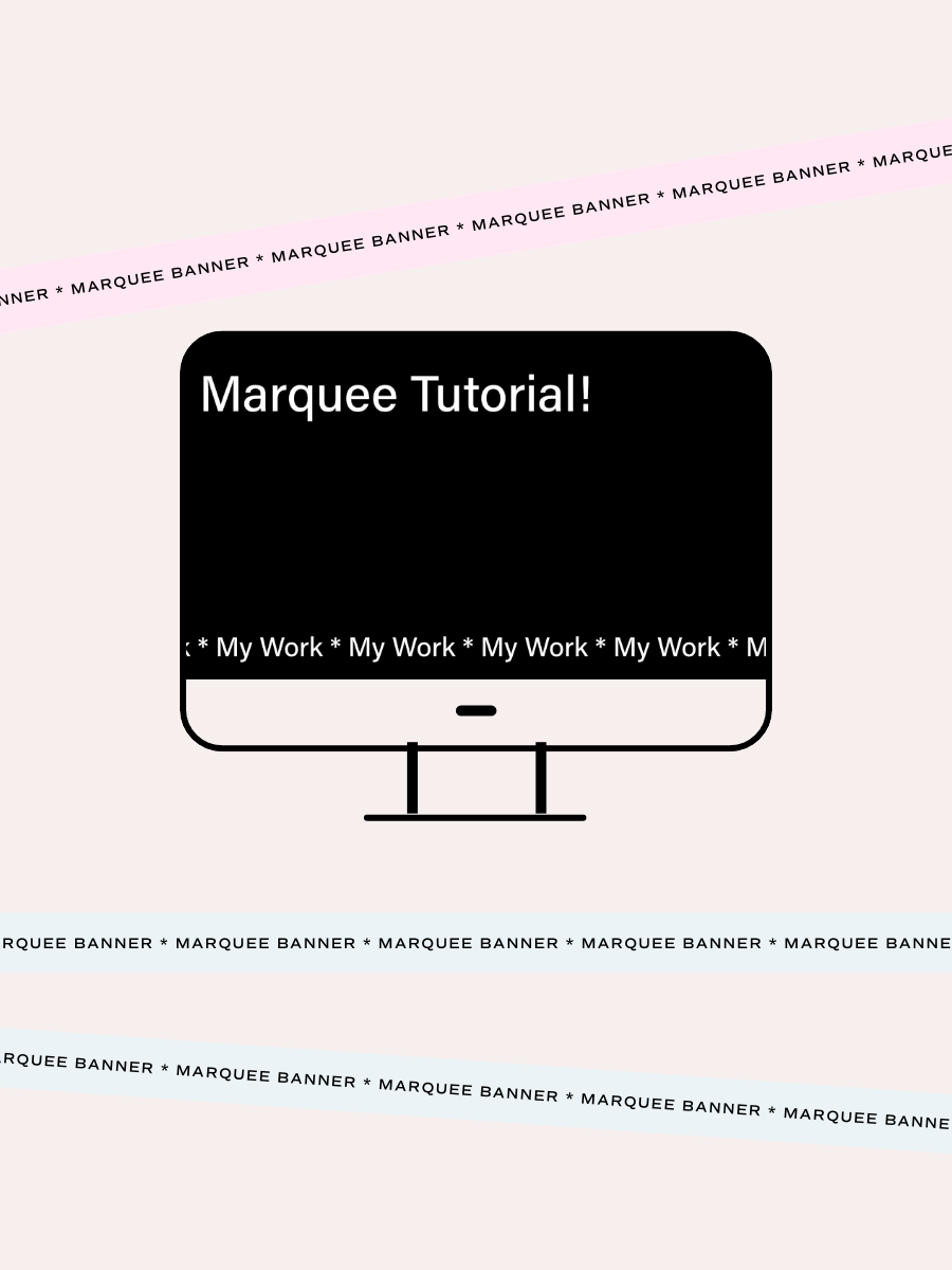 How To Add A Marquee Banner To Squarespace