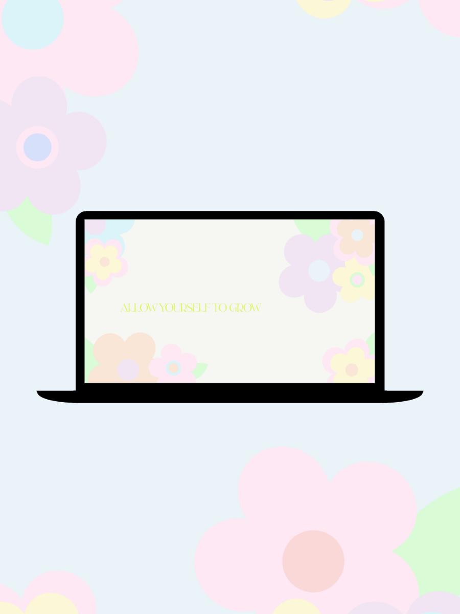 Free Funky Flower Desktop & Mobile Wallpapers