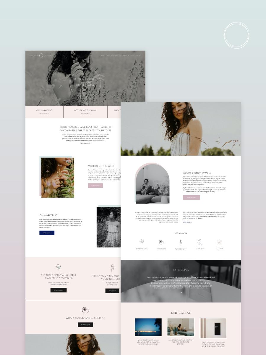 Bee Umana Website Launch